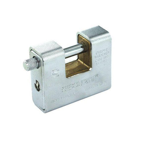 Securit - 90mm Armoured Padlock Padlocks | Snape & Sons