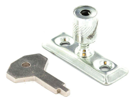 Securit - Window Stay Lock Zinc x2 Window Locks | Snape & Sons