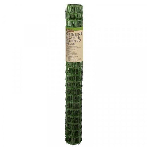 Smart Garden - 50mm Garden Mesh Green 1m x 5m Garden Netting | Snape & Sons