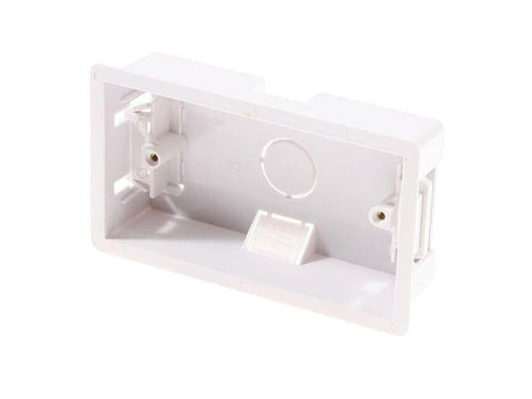 SMJ - 2 Gang 35mm Dry Partition Lining Box Back Boxes | Snape & Sons