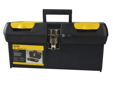 Stanley Tools - 16in Metal Latch Toolbox Tool Boxes | Snape & Sons