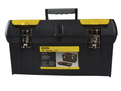 Stanley Tools - 19in Metal Latch Toolbox Tool Boxes | Snape & Sons