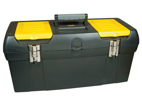 Stanley Tools - 24in Metal Latch Toolbox Tool Boxes | Snape & Sons
