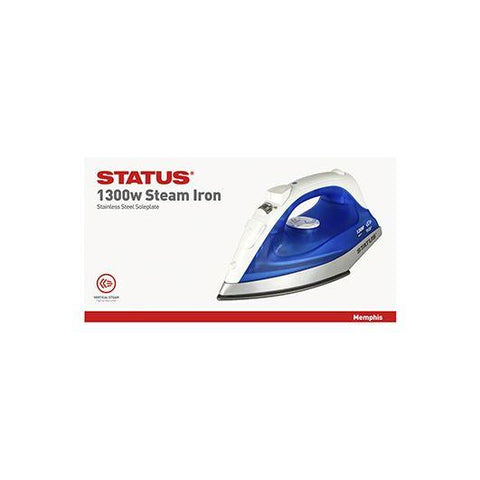 Status - Memphis Steam Iron 1300W Steam Irons | Snape & Sons