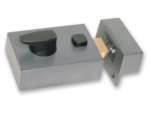 Sterling Locks - Grey Standard Nightlatch Nightlatches | Snape & Sons