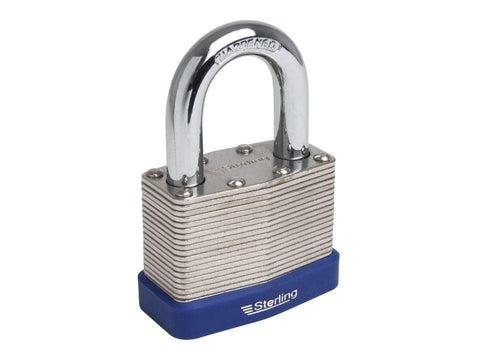 Sterling Locks - Laminated Double Locking Padlock 50mm Padlocks | Snape & Sons