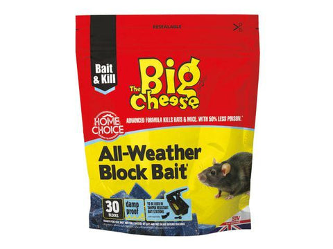 STV - All Weather Bait Block x30 Rodent Control | Snape & Sons