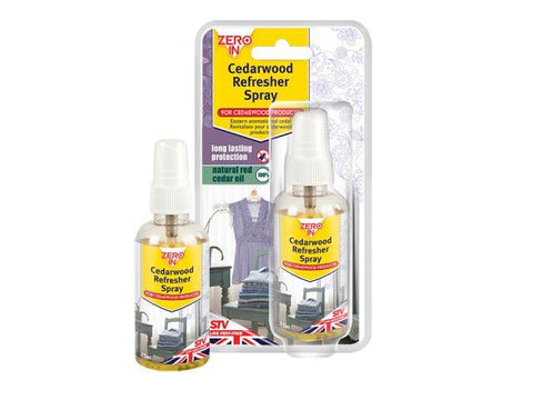 STV - Cedar Wood Oil Refresher Spray 75ml Moth Control | Snape & Sons