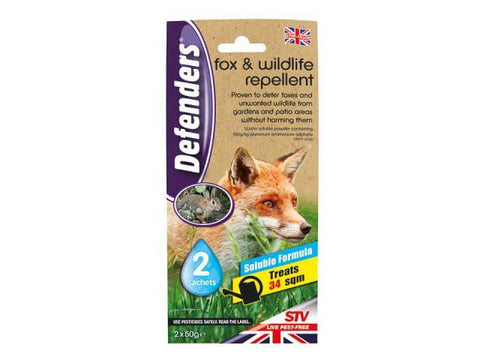 STV - Fox & Wildlife Repellent 4 x 25g Wild Animal Control | Snape & Sons