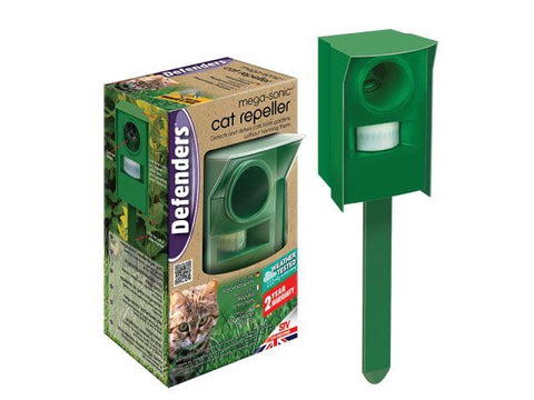 STV - Mega Sonic Cat Repeller Cat & Dog Repellents | Snape & Sons