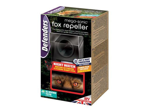 STV - Mega Sonic Fox Repeller Wild Animal Control | Snape & Sons