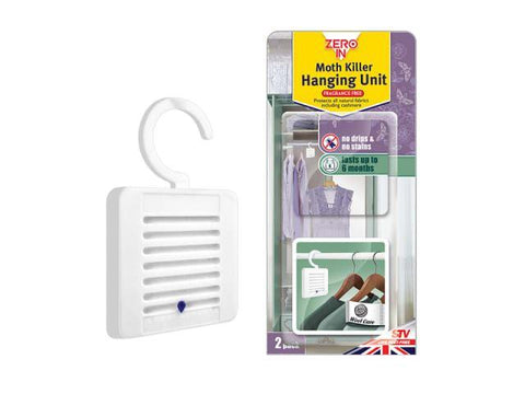 STV - Moth Killer Hanging Unit Moth Control | Snape & Sons