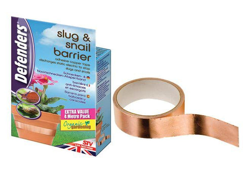 STV - Slug & Snail Copper Barrier Tape Slug Control | Snape & Sons