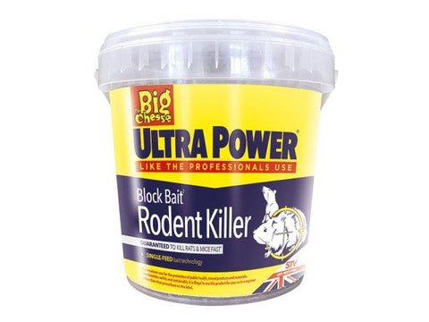 STV - Ultra Power Block Bait x 15 Rodent Control | Snape & Sons