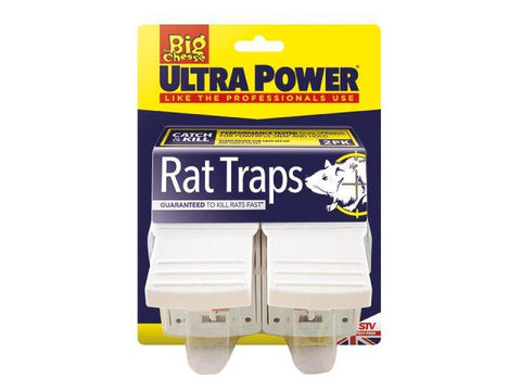 STV - Ultra Power Rat Trap x2 Rodent Control | Snape & Sons