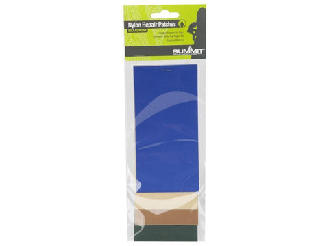 Summit - Nylon Puncture Repair Patches x4 Repair Tape | Snape & Sons