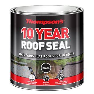 Thompson's - 10 Year Roof Seal Grey 1l Roof Repair | Snape & Sons