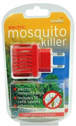 Travels Accessories - Mosquito Killer Plug & 15 Refills Travel Accessories | Snape & Sons