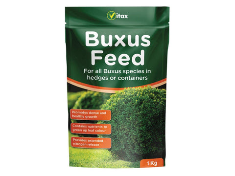 Vitax - Buxus Feed 1kg Pouch Plant Feed | Snape & Sons