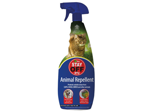 Vitax - Stay Off Spray 750ml Cat & Dog Repellents | Snape & Sons
