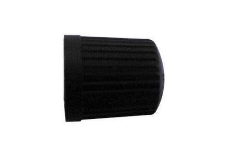 W4 - Tyre Valve Dust Caps Black Car Maintenance | Snape & Sons