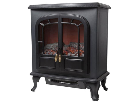Warmlite - Wingham 2 Door Electric Fireplace Heater Electric Stoves | Snape & Sons