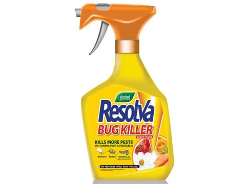 Westland - Resolva Bug Killer Spray 1L Horticultural Pesticides | Snape & Sons