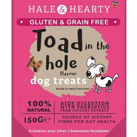 Zöon Pets - Hale & Hearty Toad In The Hole Grain Free Dog Treats | Snape & Sons