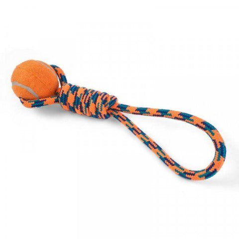 Zöon Pets - Uber-Activ Ball Lobber Rope Toys | Snape & Sons