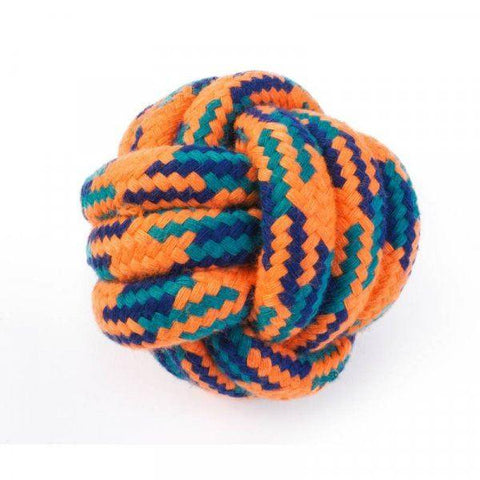 Zöon Pets - Uber-Activ Rope Ball 6cm Rope Toys | Snape & Sons