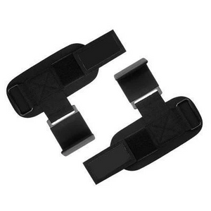 WEIGHT LIFTING HOOKS GRIPS WITH WRIST WRAPS & STRAPS