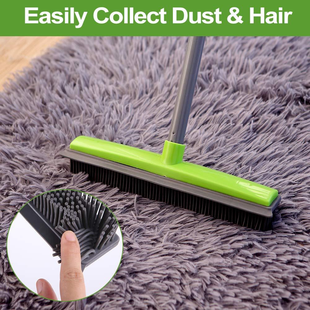 Pet Hair Remover Rubber Broom(2020 Upgraded)