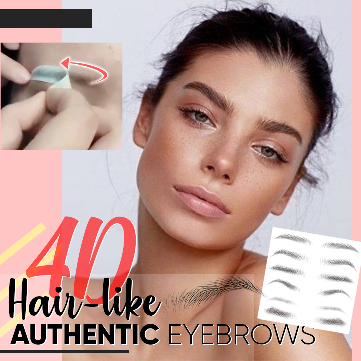(Buy 2 Get 3) 4D Hair-like Authentic Eyebrows