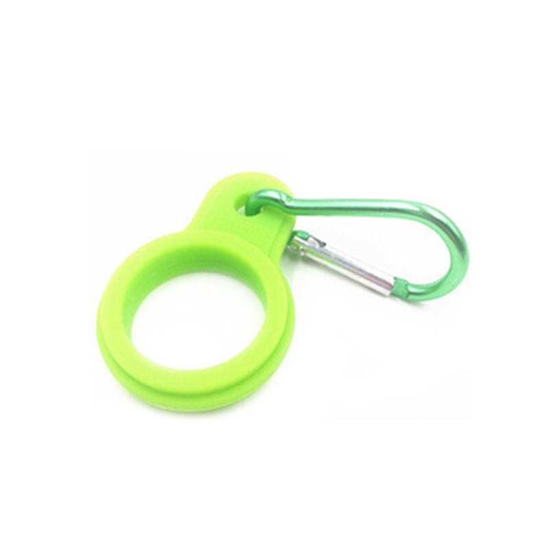 Lime Green Carabiner Clip - Bosh Bottles UK - Reusable Drinks Bottle - Gym Bottle - Hot and Cold Flask