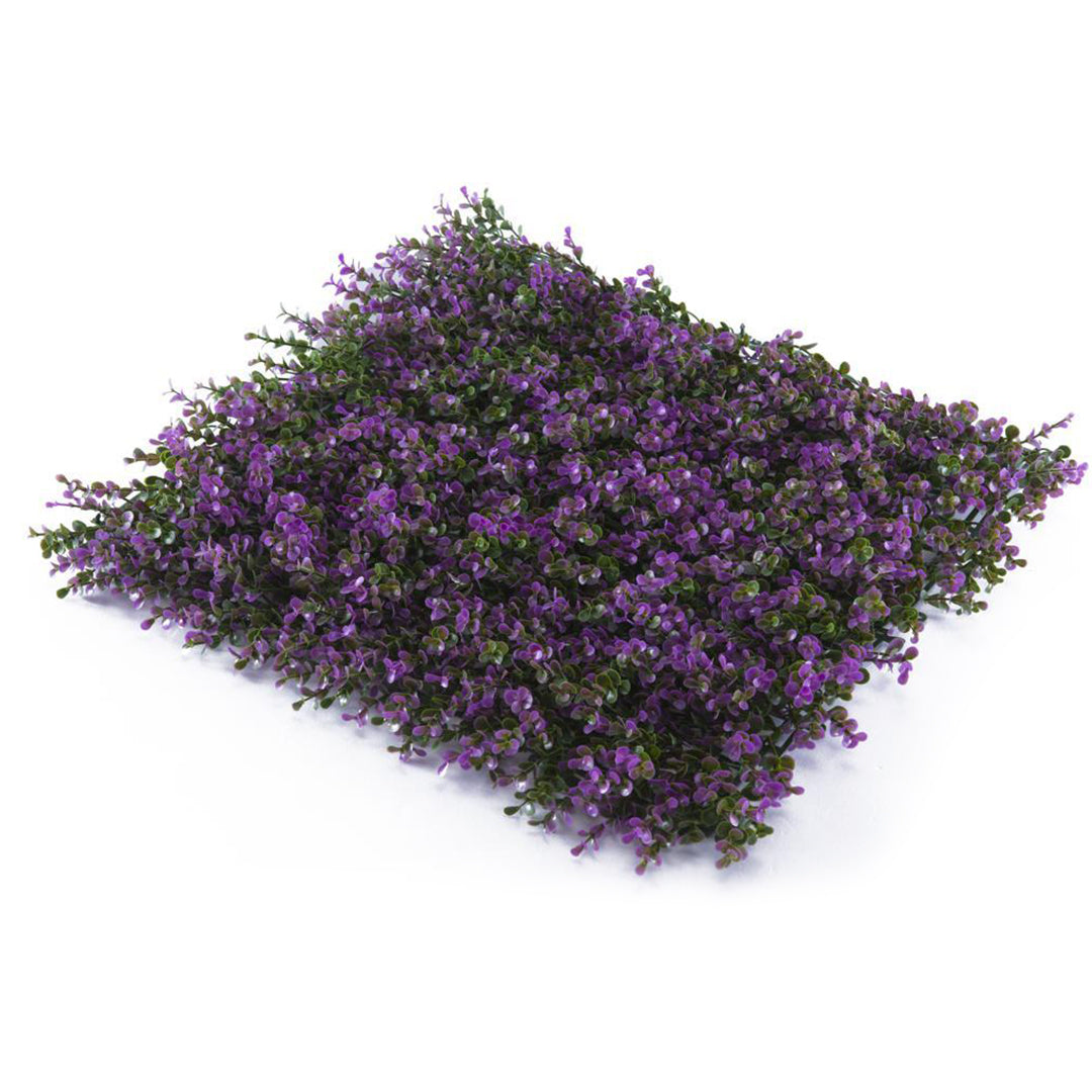 Decograss Inverna Violet Wall Panel - Box of 3.3 sqf (1 mt2)