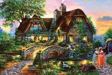 Load image into Gallery viewer, Beautiful Cottage Kids Puzzle - 234 Pieces - PuzzleMode.com