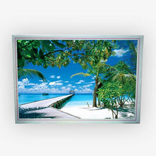 Load image into Gallery viewer, 1000 Piece Jigsaw Puzzle - Slice of Paradise - PuzzleMode.com