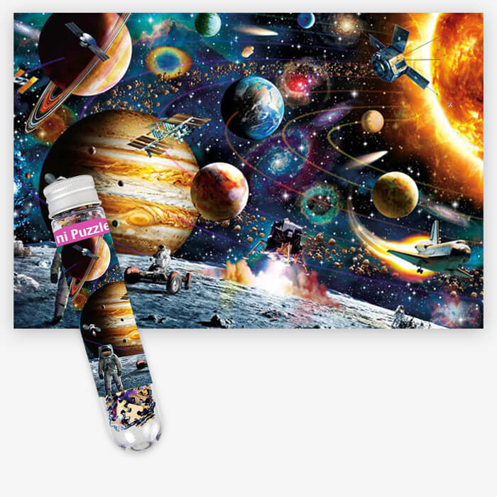 Space Traveler Kids Puzzle - 234 Pieces - PuzzleMode.com