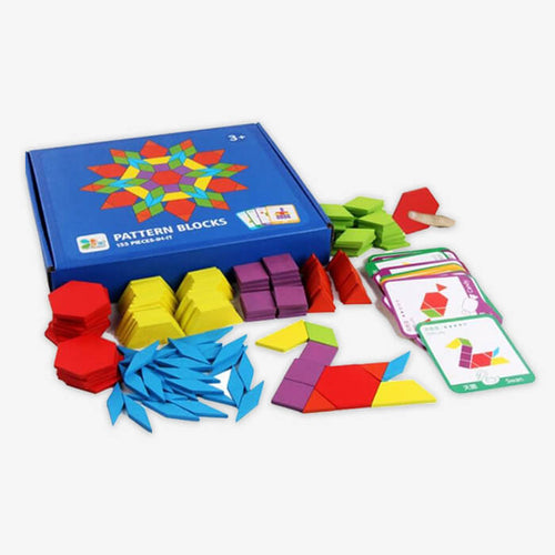 3D Shape Colorform Kids Puzzle - PuzzleMode.com