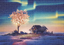 "Load image into Gallery viewer, ""Polar Impression"" 1000 Piece Jigsaw Puzzle - PuzzleMode.com"