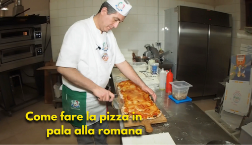 COME FARE LA PIZZA IN PALA ALLA ROMANA