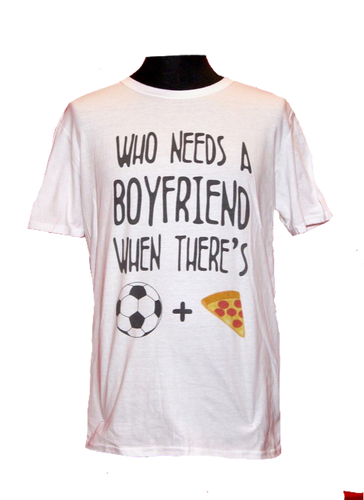T-Shirt Pizza Boyfriend