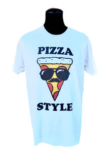 T-Shirt Pizza Style