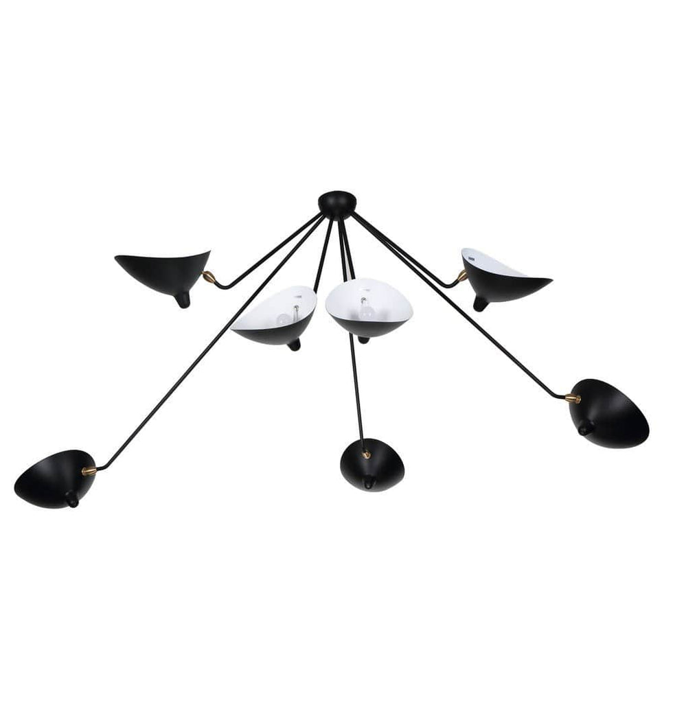 Serge Seven-Arm Spider Ceiling Lamp - Reproduction - Modn City