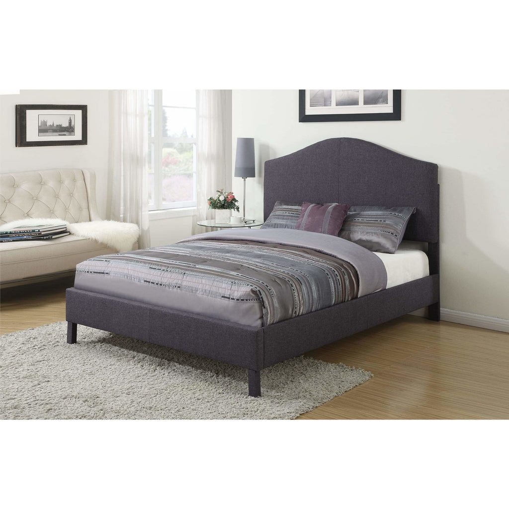 King Grey Linen Bed - Modn City