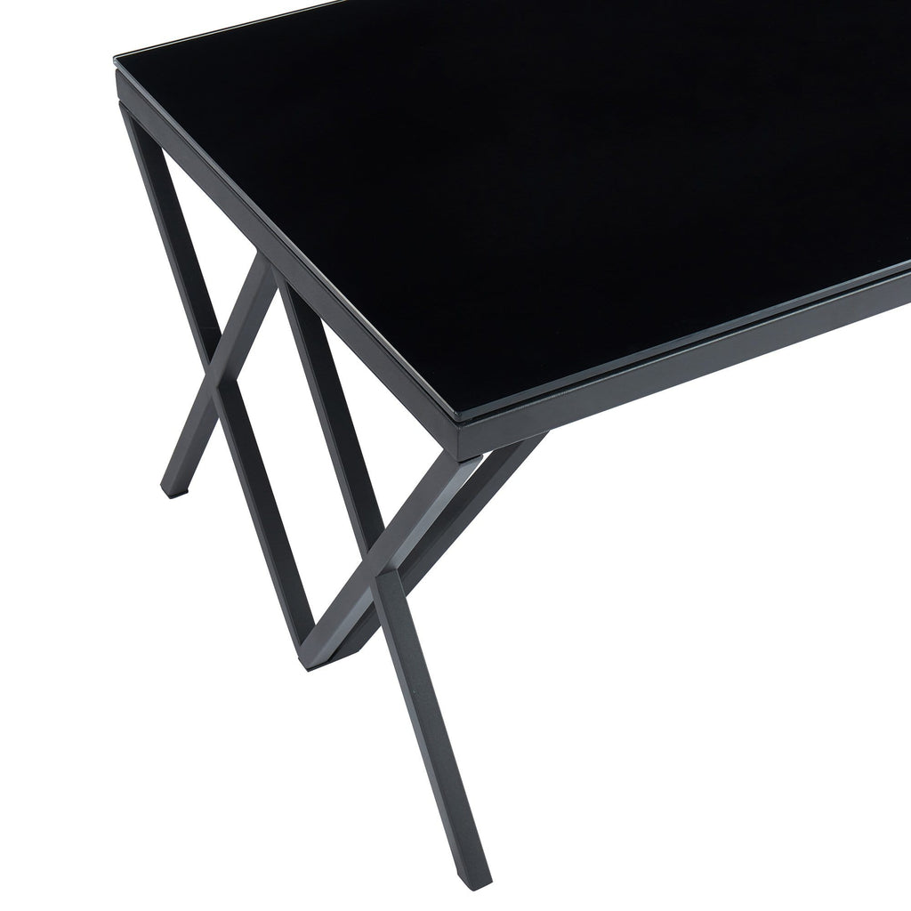 Calix Coffee Table in Black - Modn City