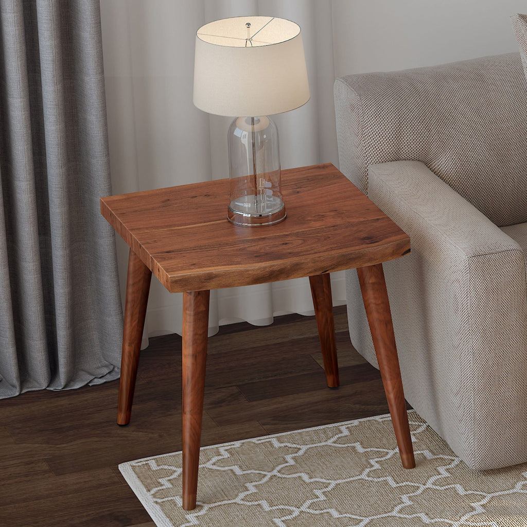 Arnav Accent Table in Walnut - Modn City