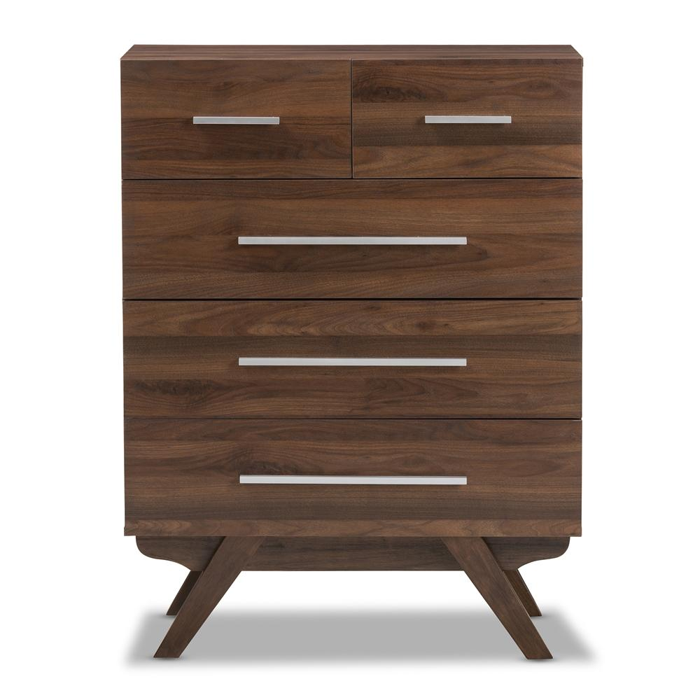 Auburn Mid-Century Modern Five-Drawer Chest - Modn City