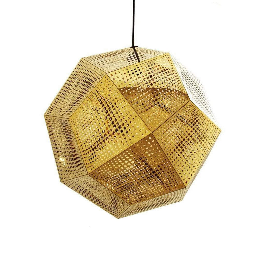 Etch Shade Pendant - Gold - Reproduction - Modn City