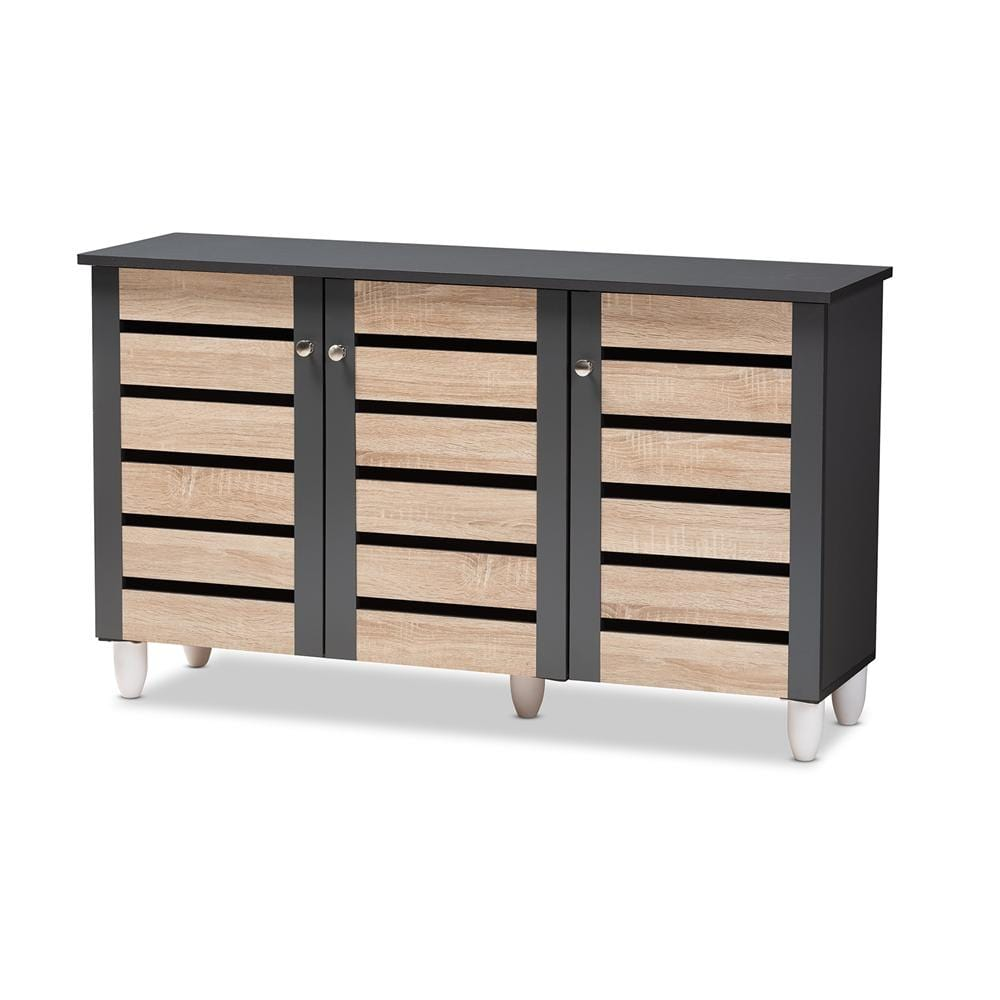 Gisela Three-Door Shoe Storage Cabinet - Modn City